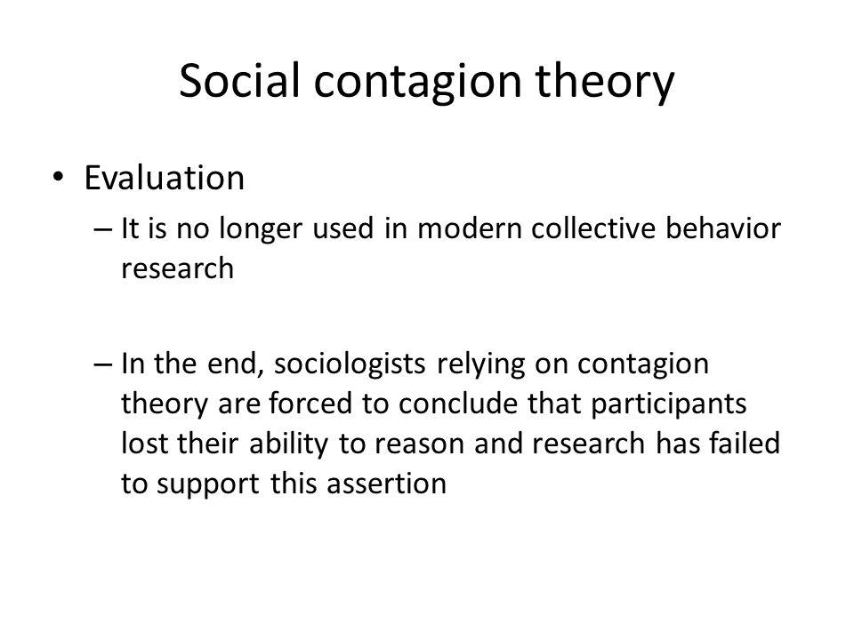 Social contagion theory