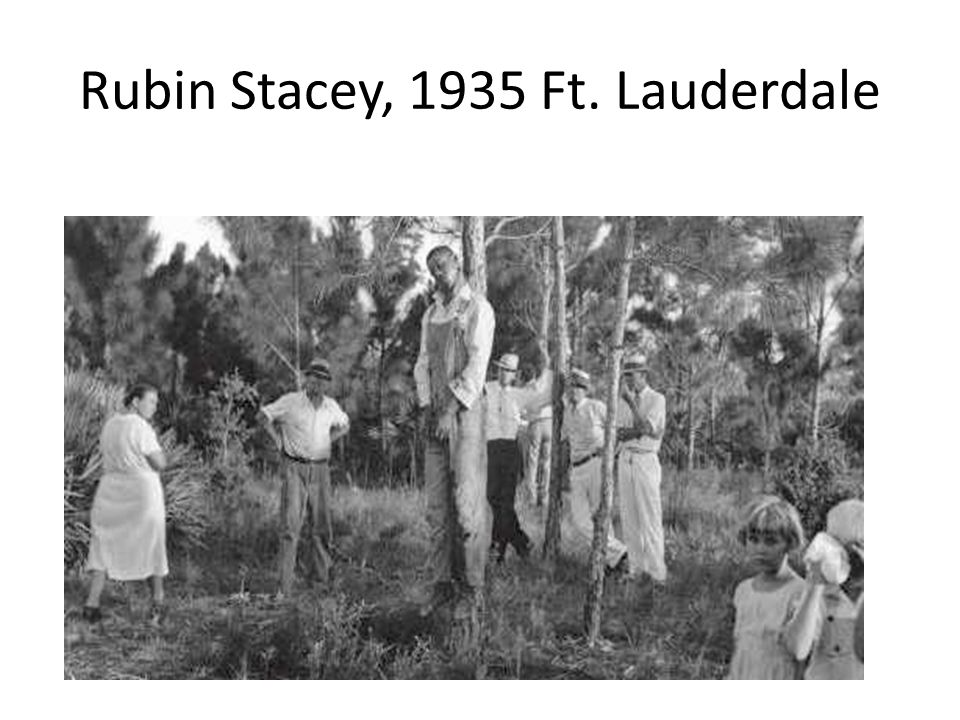 Rubin Stacey, 1935 Ft. Lauderdale
