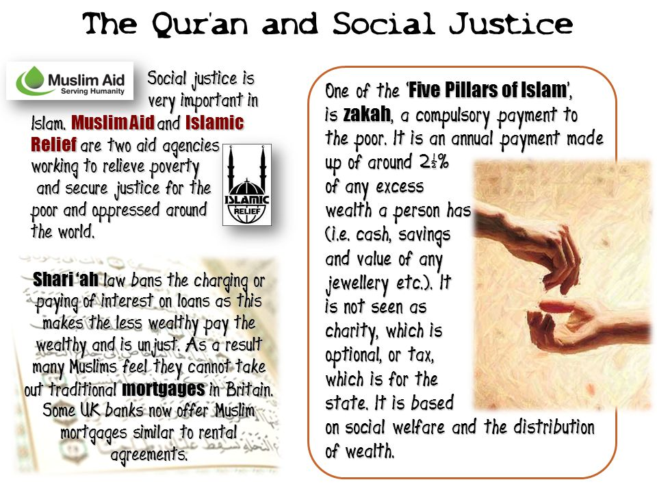 The Qur'an and Social Justice