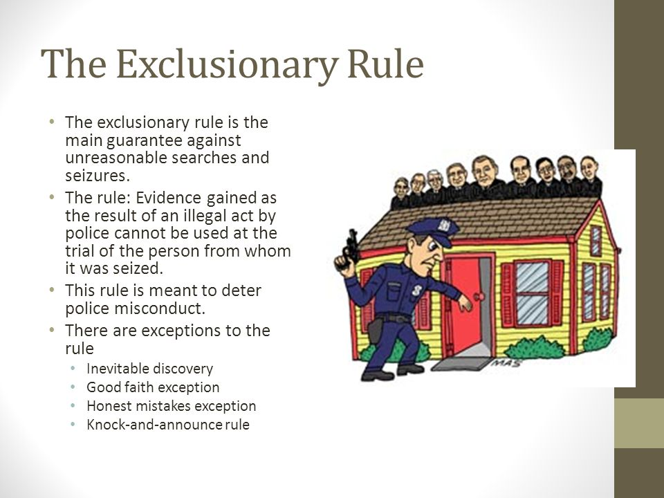 Inevitable Discovery Exception Law and Legal Definition
