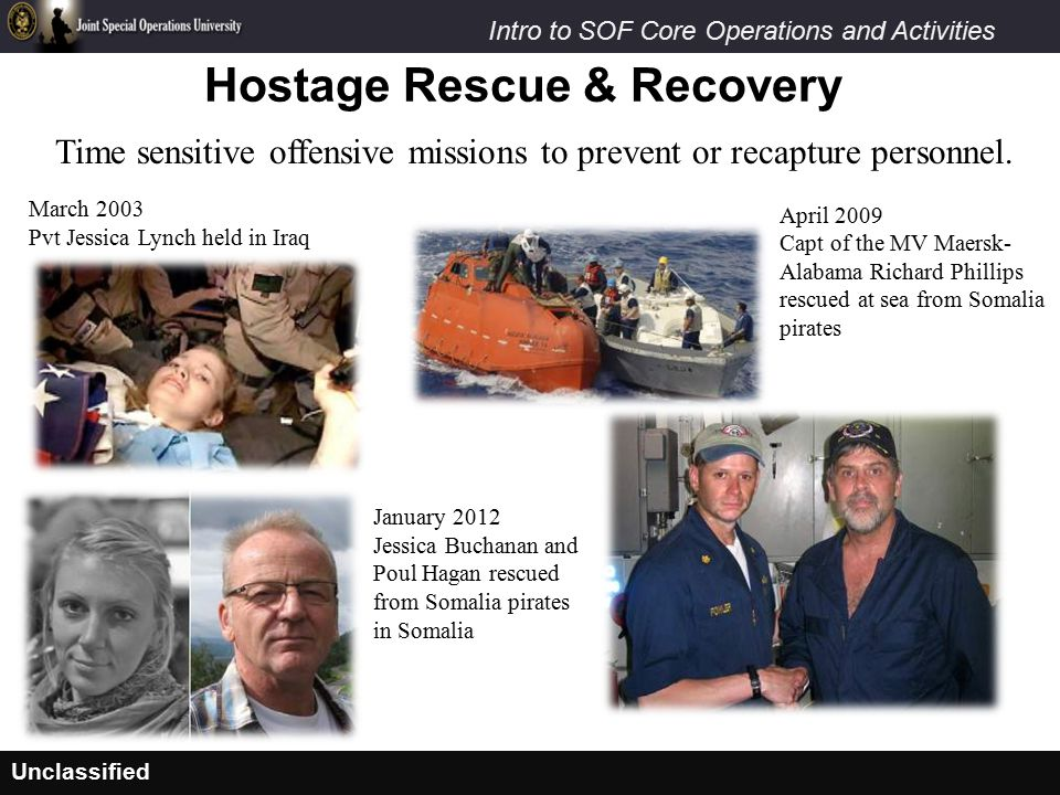Hostage Rescue & Recovery