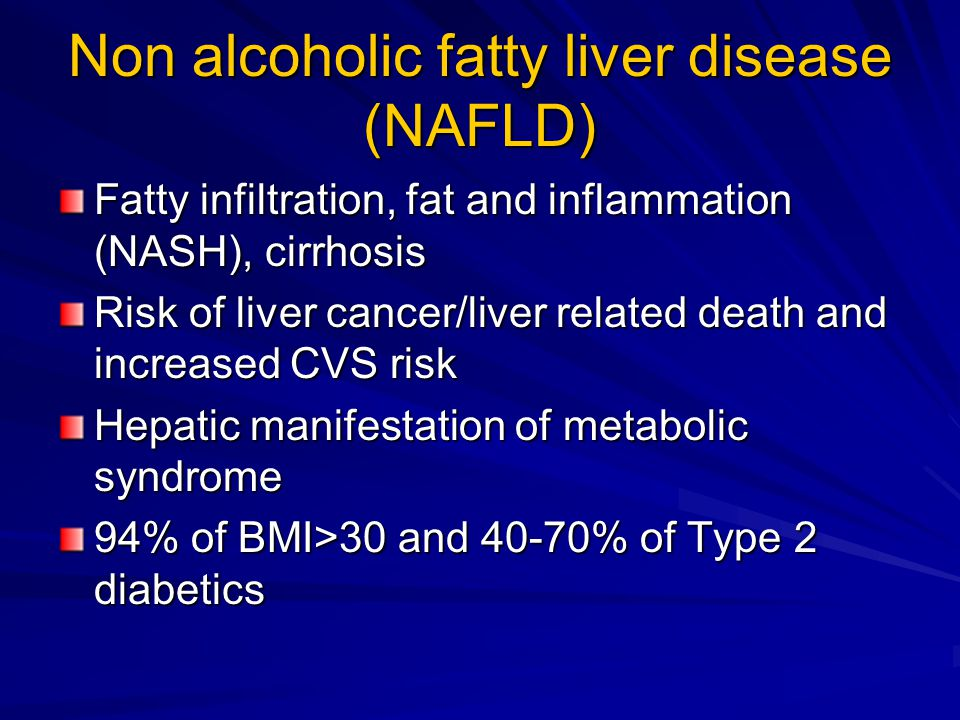 non alcoholic fatty liver disease Us department of veterans afairs veterans health administration oice of public health non-alcoholic fatty liver disease: a patient's guide.
