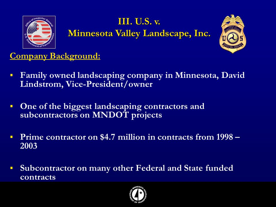 Minnesota Valley Landscape, Inc.