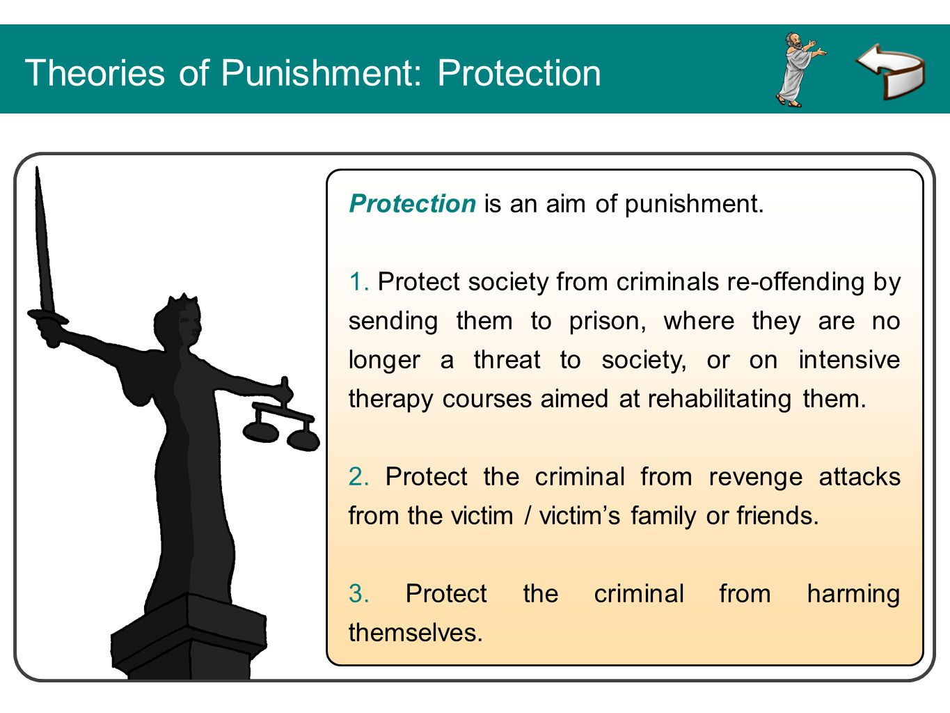 Theories of Punishment: Protection