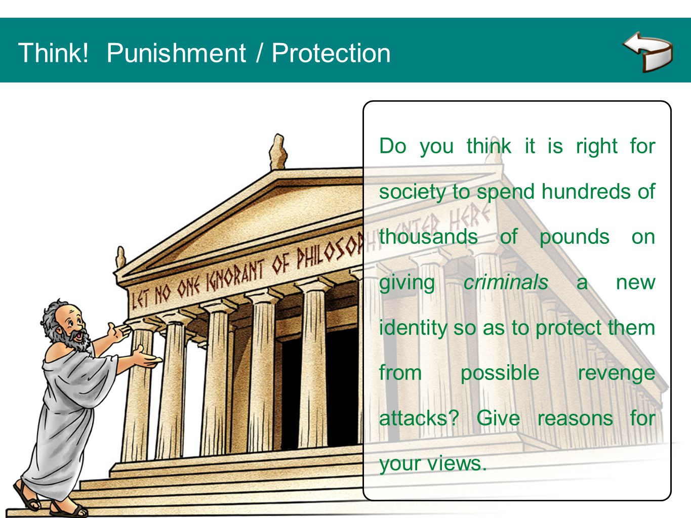 Think! Punishment / Protection