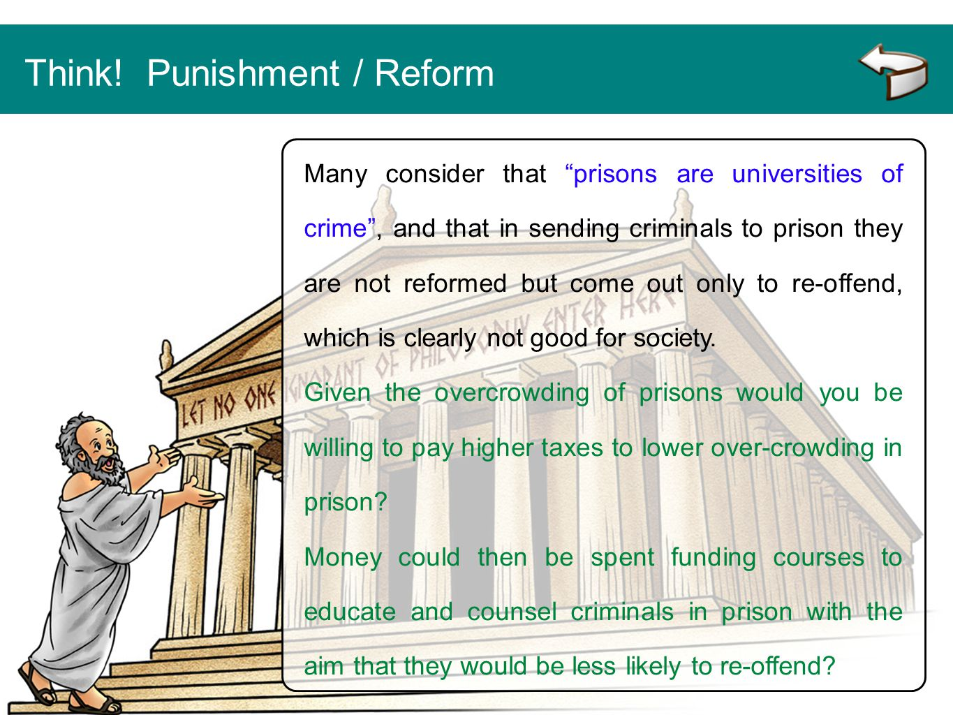 Think! Punishment / Reform