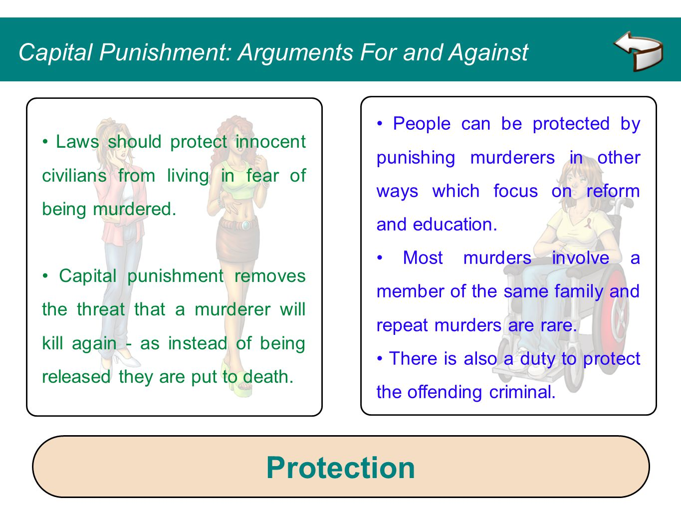 Protection Capital Punishment: Arguments For and Against