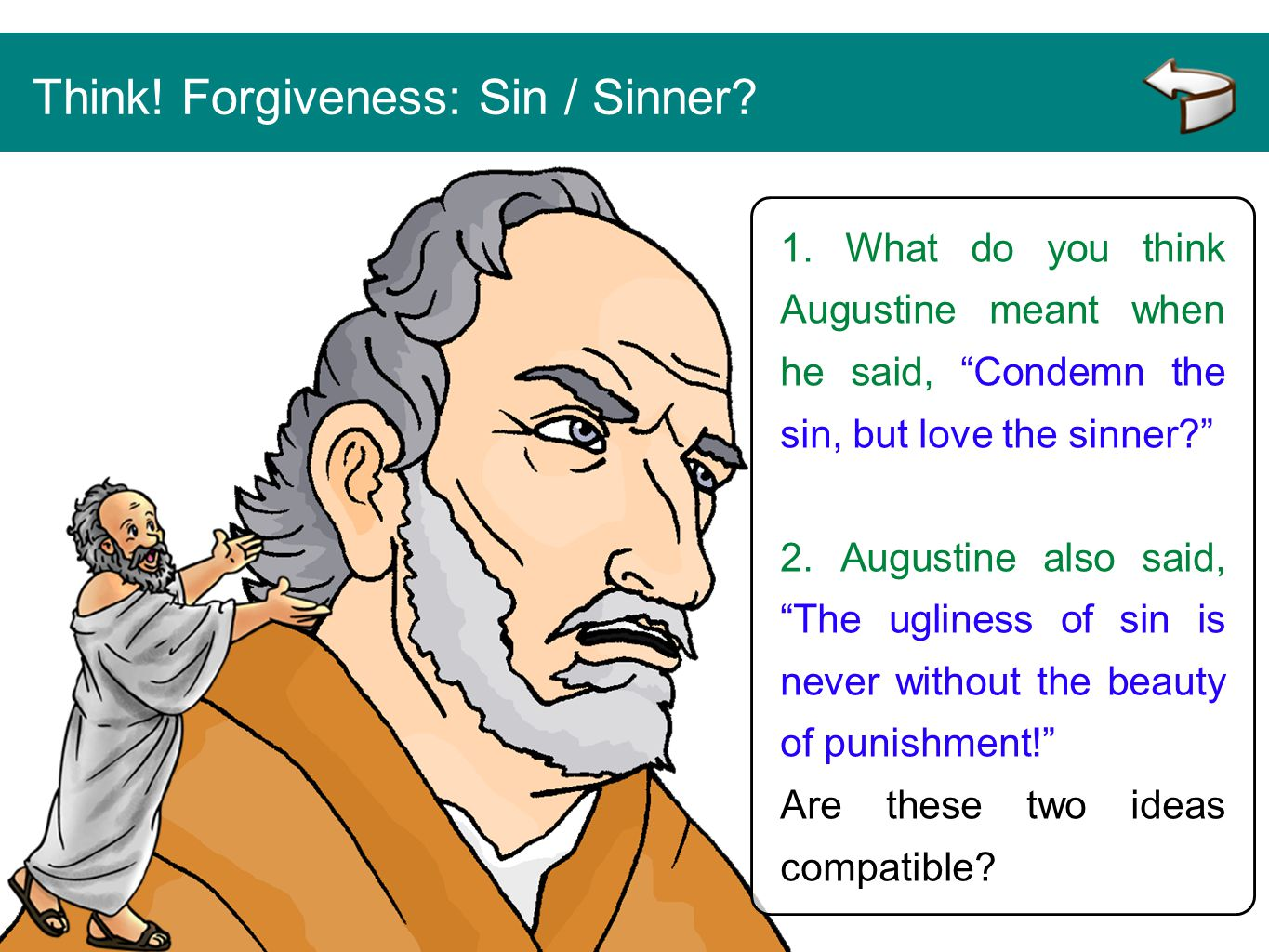 Think! Forgiveness: Sin / Sinner