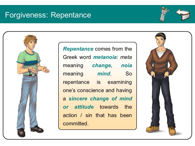 Forgiveness: Repentance