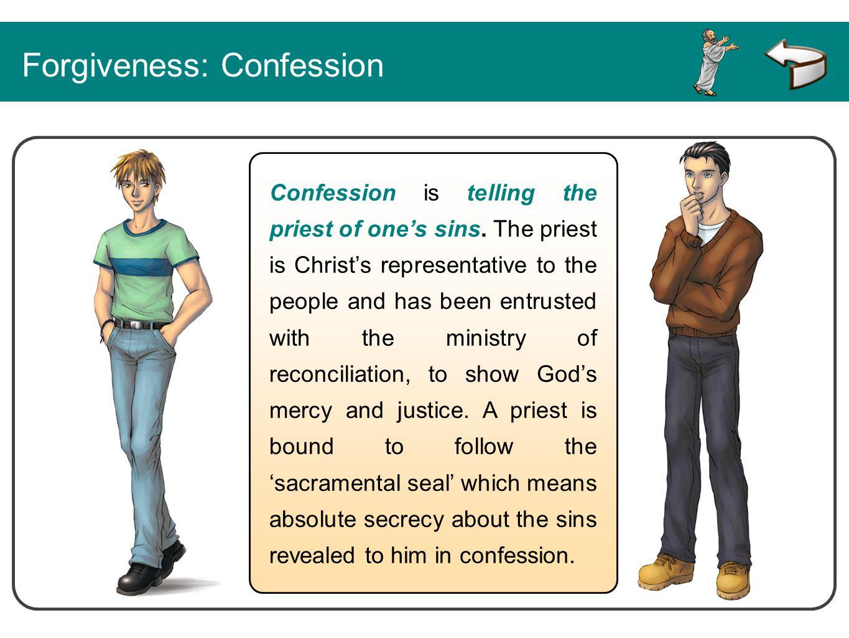 Forgiveness: Confession