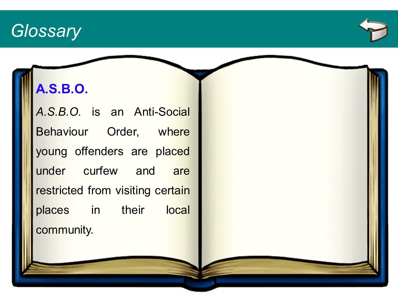 Glossary A.S.B.O.
