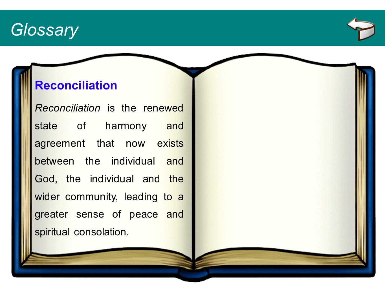 Glossary Reconciliation