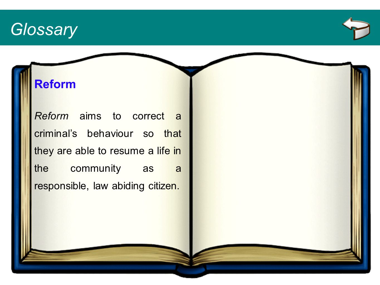 Glossary Reform.