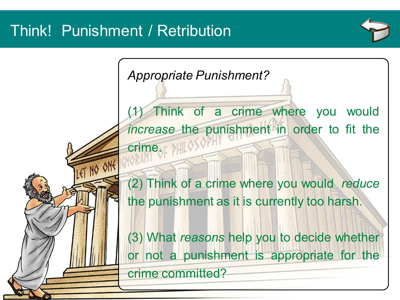 Think! Punishment / Retribution
