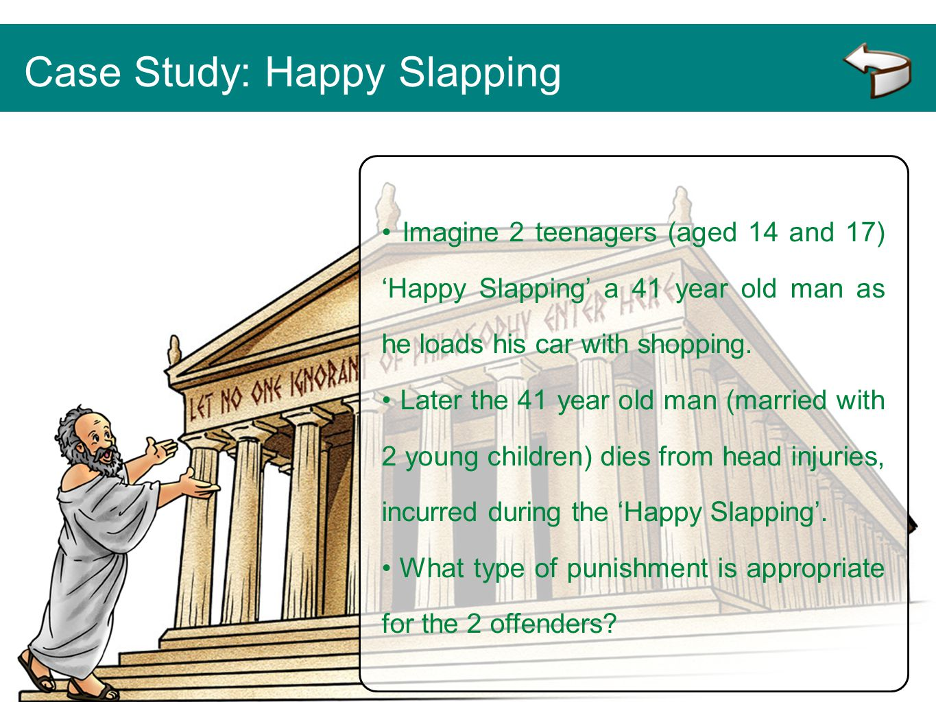 Case Study: Happy Slapping