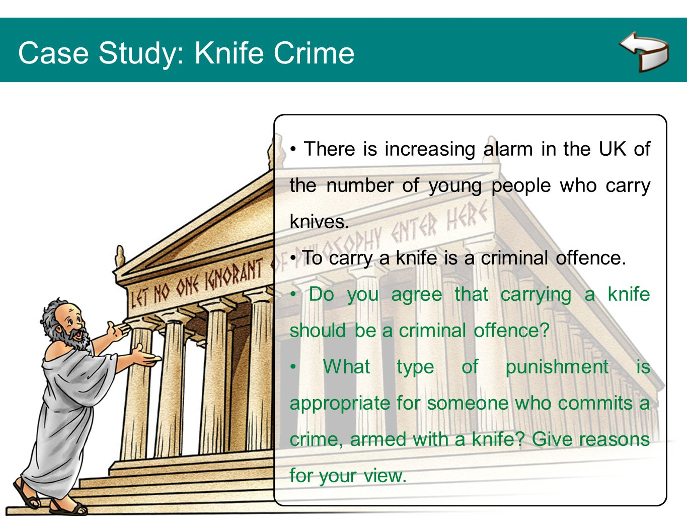 Case Study: Knife Crime
