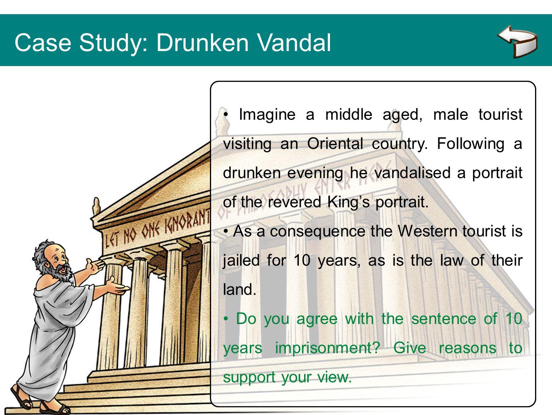 Case Study: Drunken Vandal