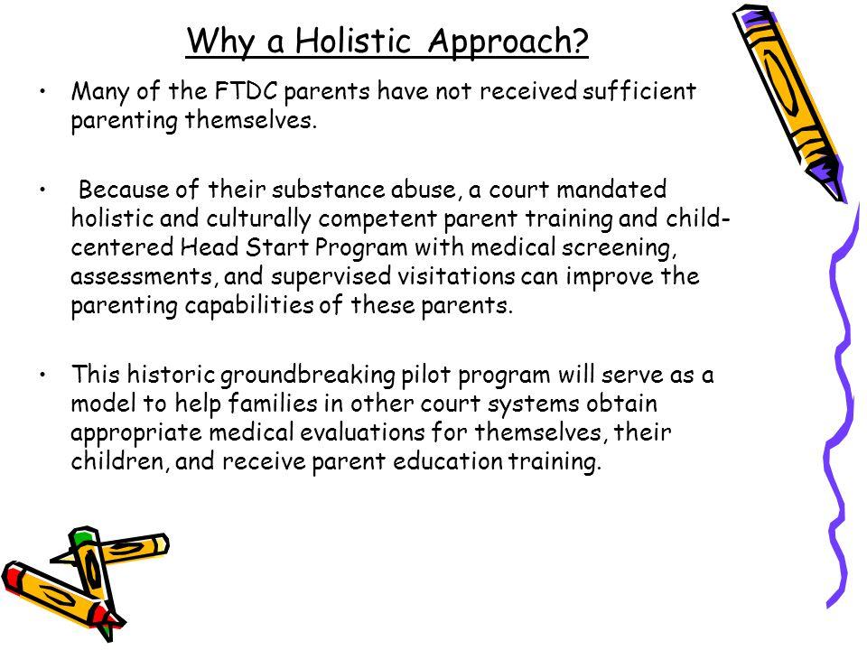 Why a Holistic Approach