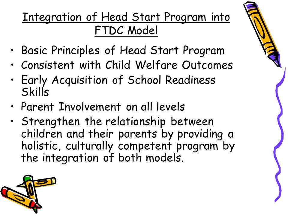 Integration of Head Start Program into FTDC Model