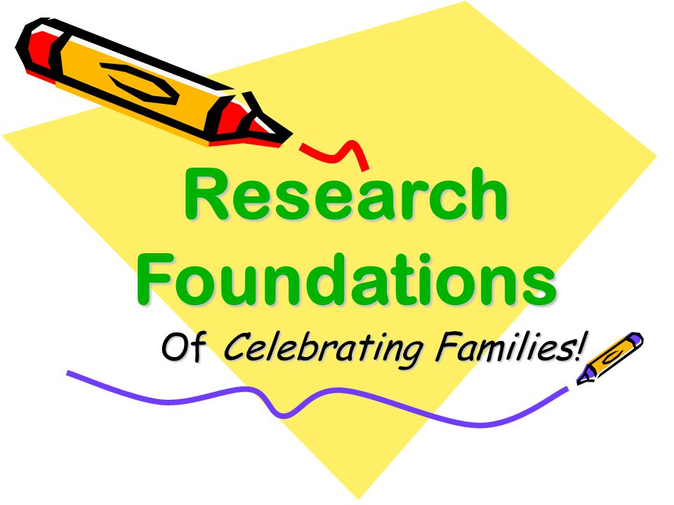 Of Celebrating Families!