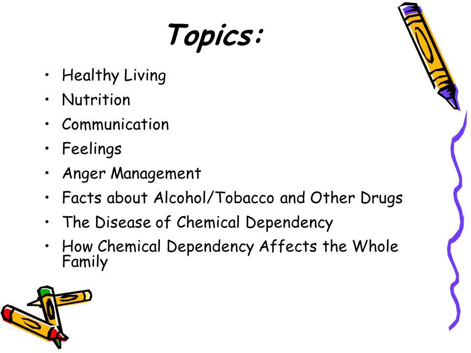 Topics: Healthy Living Nutrition Communication Feelings