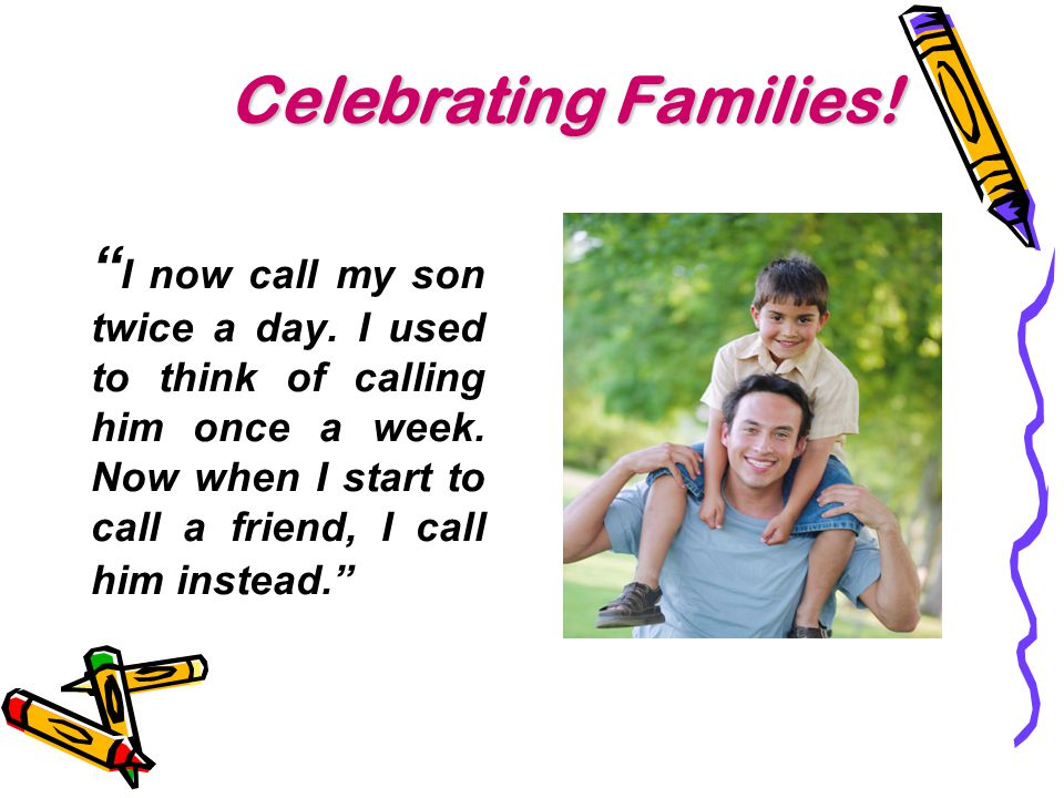 Celebrating Families!