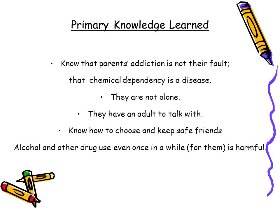 Primary Knowledge Learned