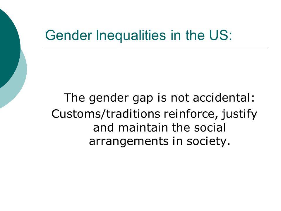 Gender Inequalities in the US: