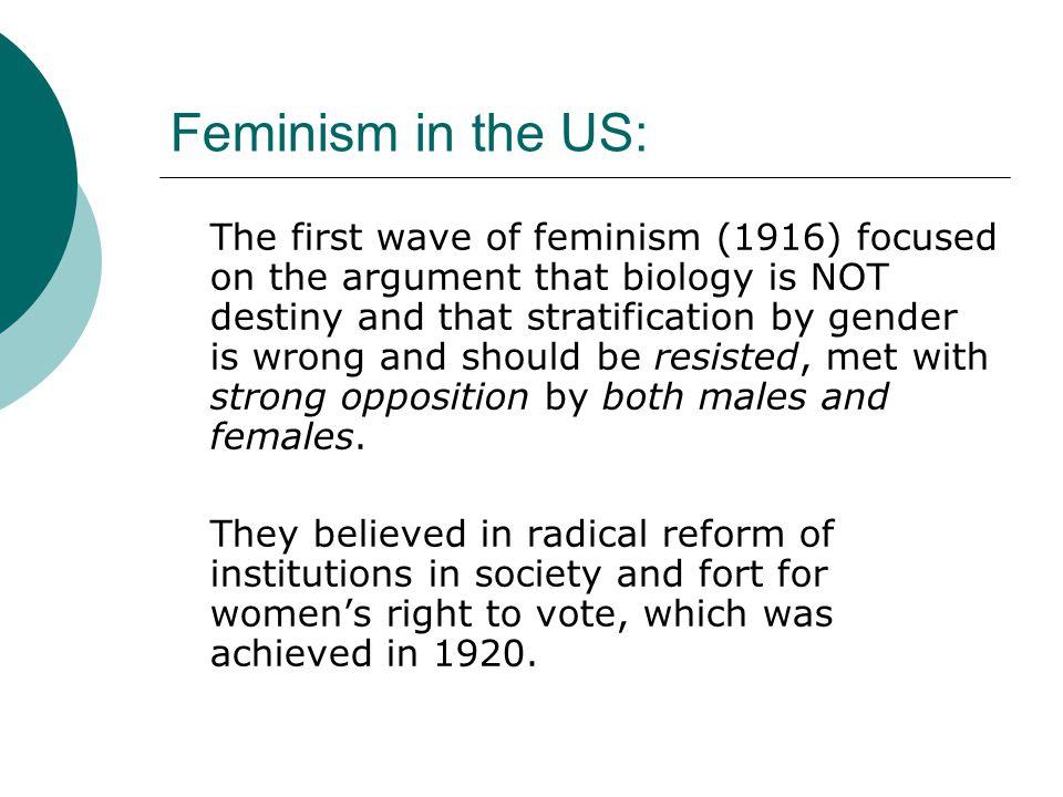 Feminism in the US: