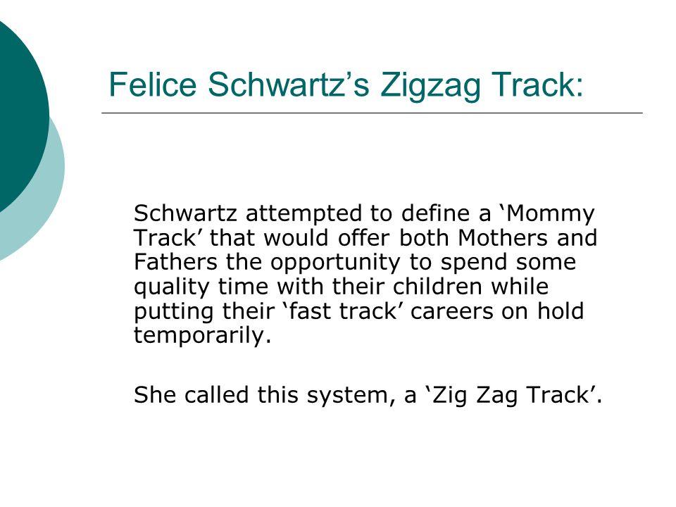 Felice Schwartz's Zigzag Track: