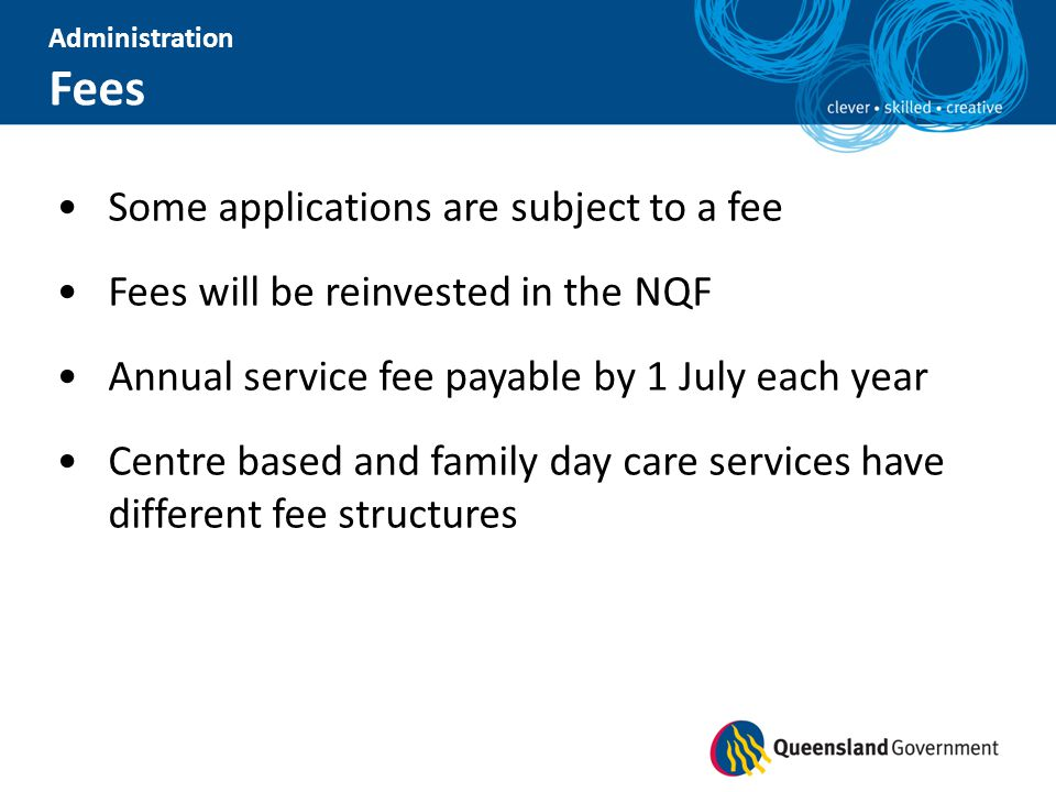 Fees Some applications are subject to a fee