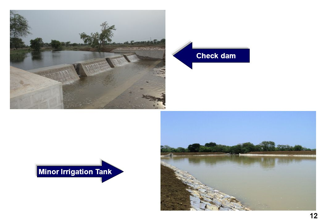 Check dam Minor Irrigation Tank 12