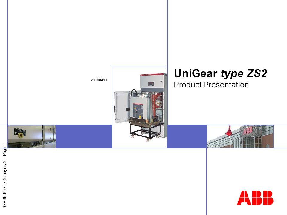 UniGear type ZS2 Product Presentation