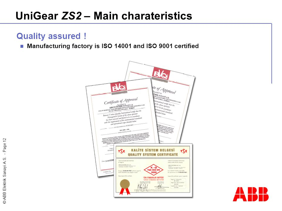 UniGear ZS2 – Main charateristics
