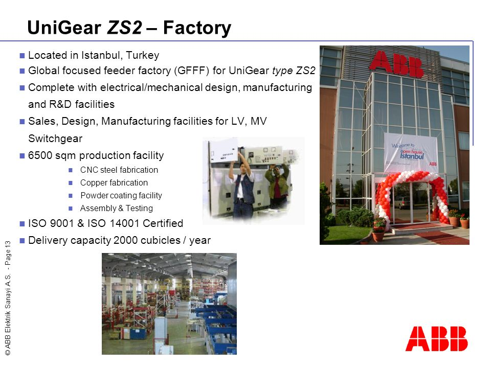 UniGear ZS2 – Factory Located in Istanbul, Turkey