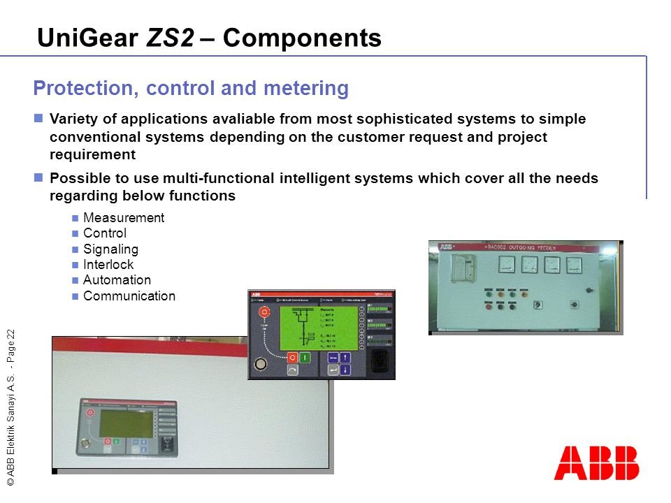 UniGear ZS2 – Components