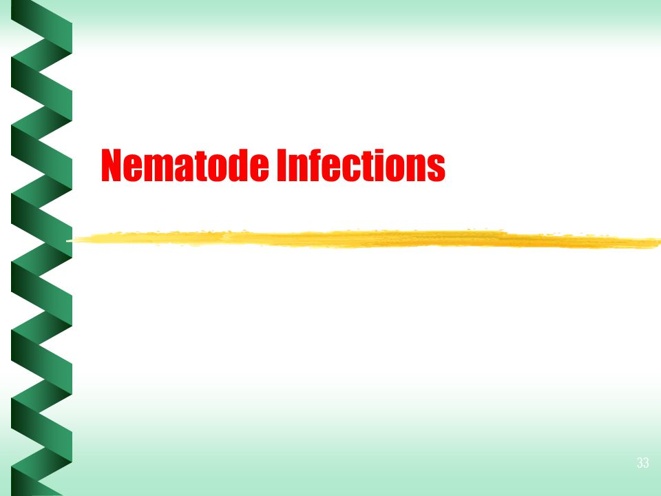 Nematode Infections