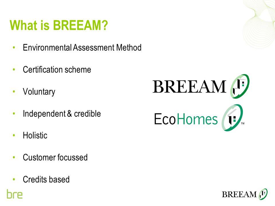 What is BREEAM Environmental Assessment Method Certification scheme