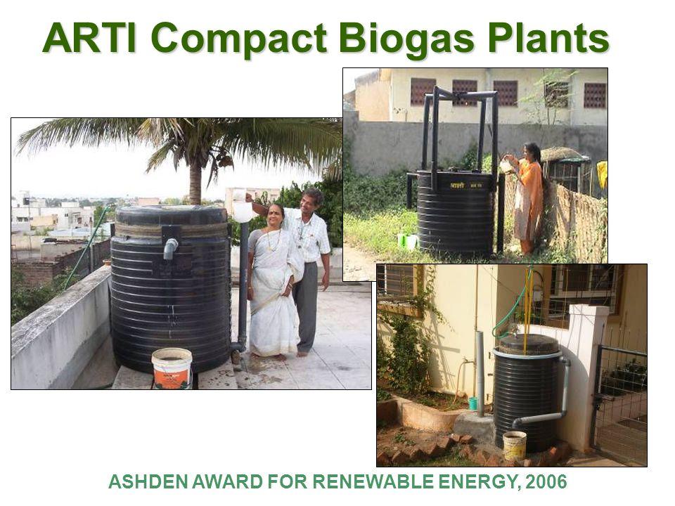 ARTI Compact Biogas Plants