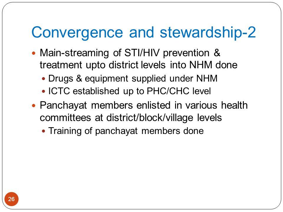 Convergence and stewardship-2