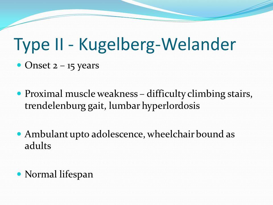 Type II - Kugelberg-Welander