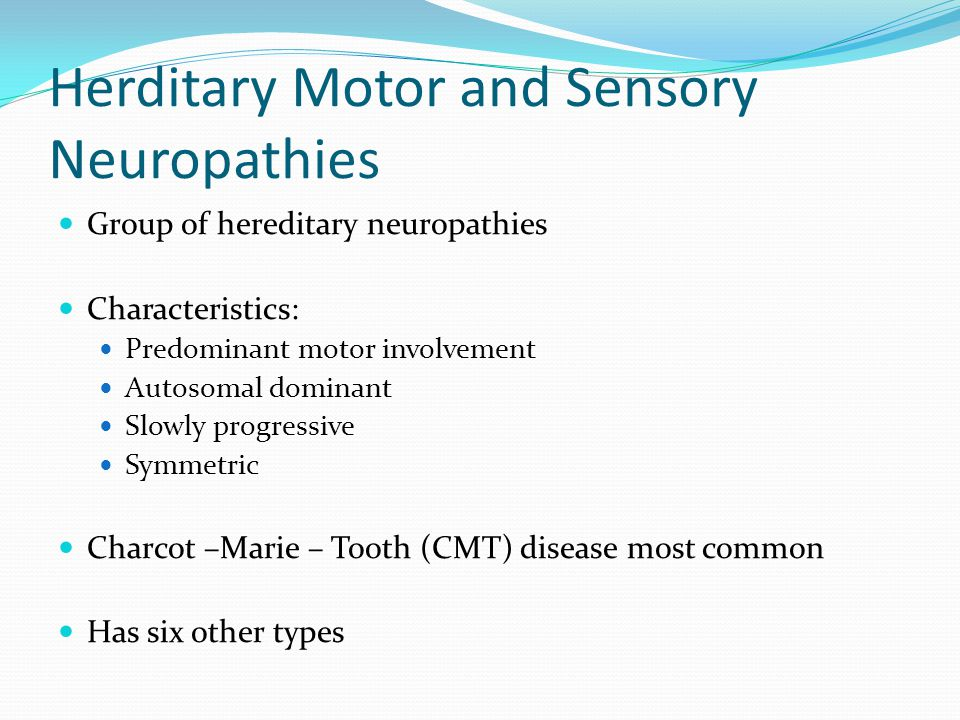 Lower motor neuron conditions ppt video online download Hereditary motor neuropathy