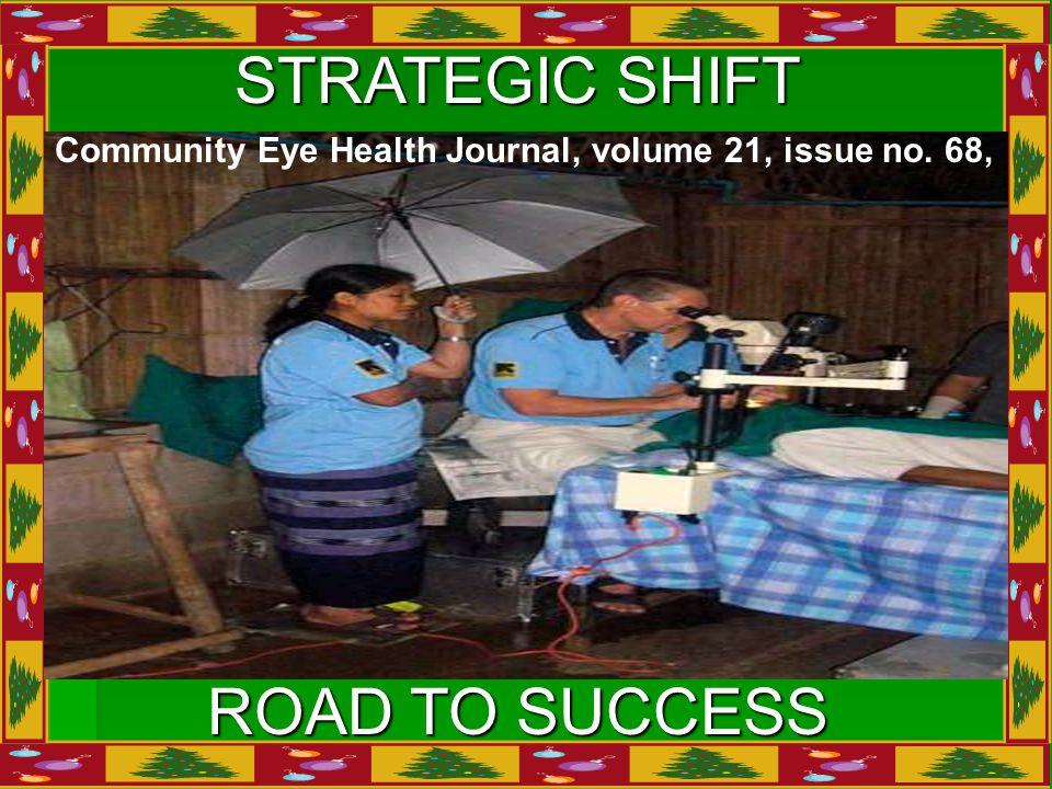 STRATEGIC SHIFT ROAD TO SUCCESS