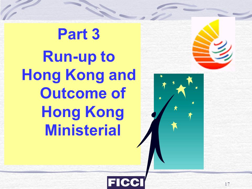 Hong Kong and Outcome of Hong Kong Ministerial