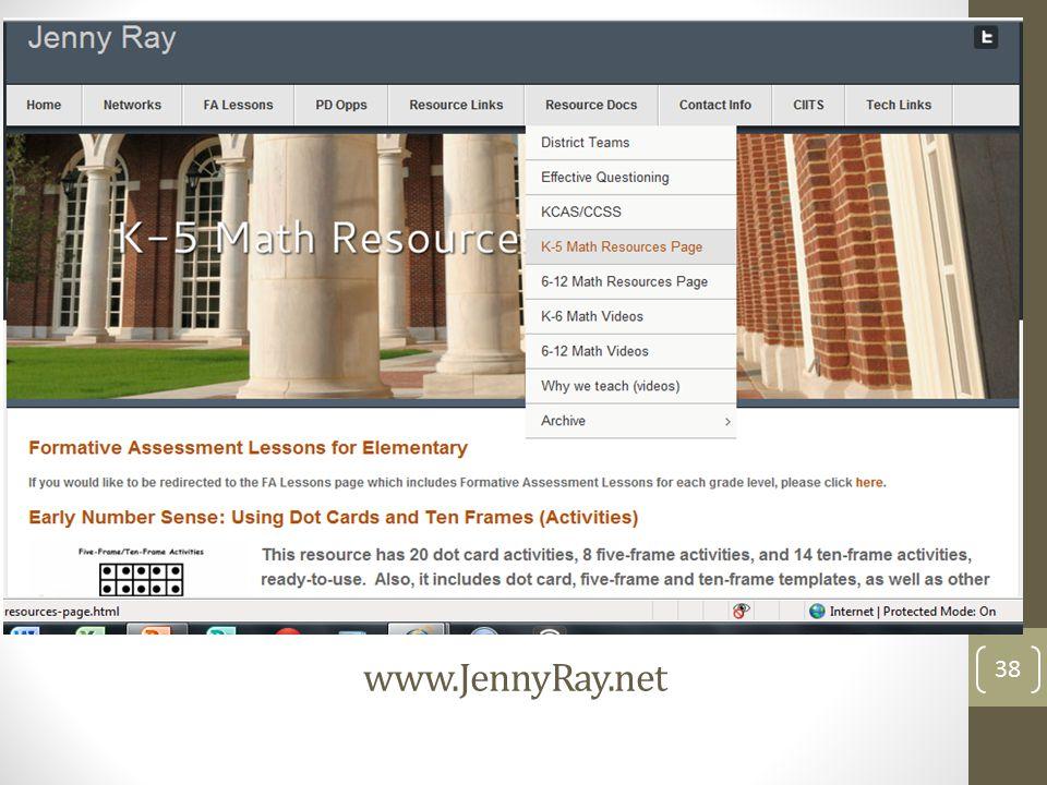 www.JennyRay.net www.JennyRay.net