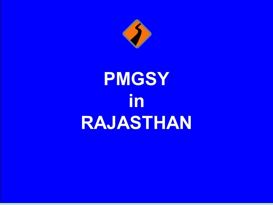 PMGSY in RAJASTHAN