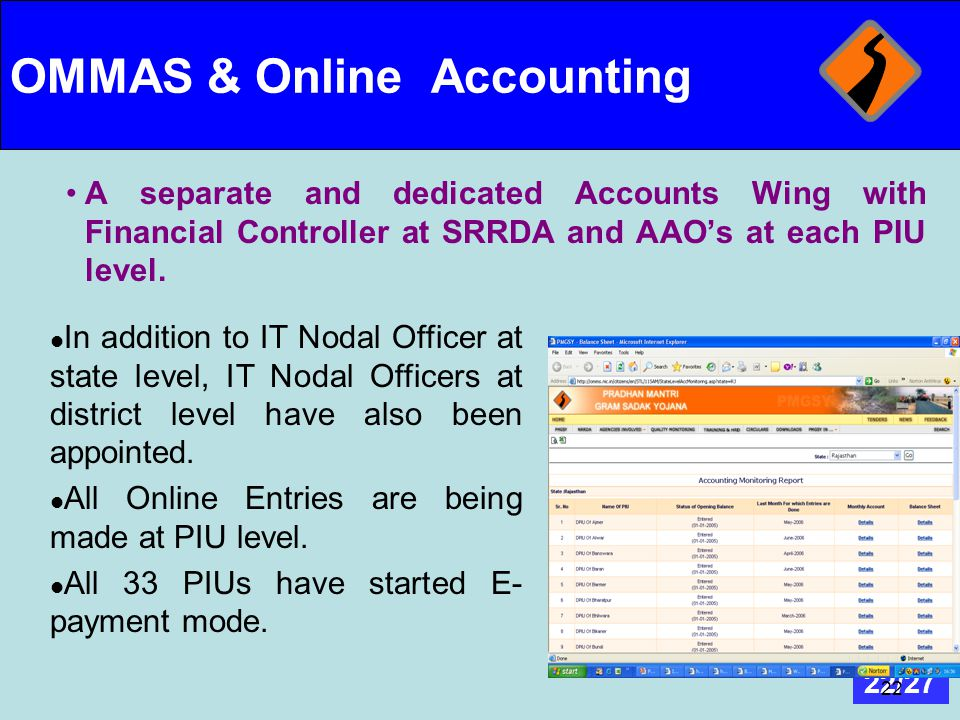 OMMAS & Online Accounting