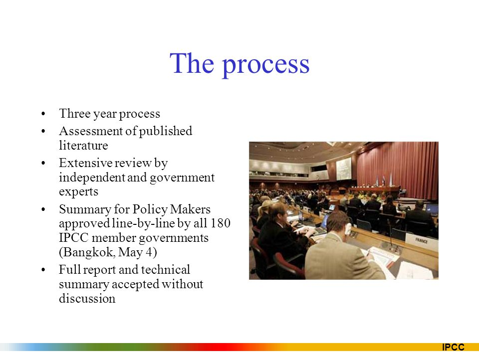 The process Three year process Assessment of published literature