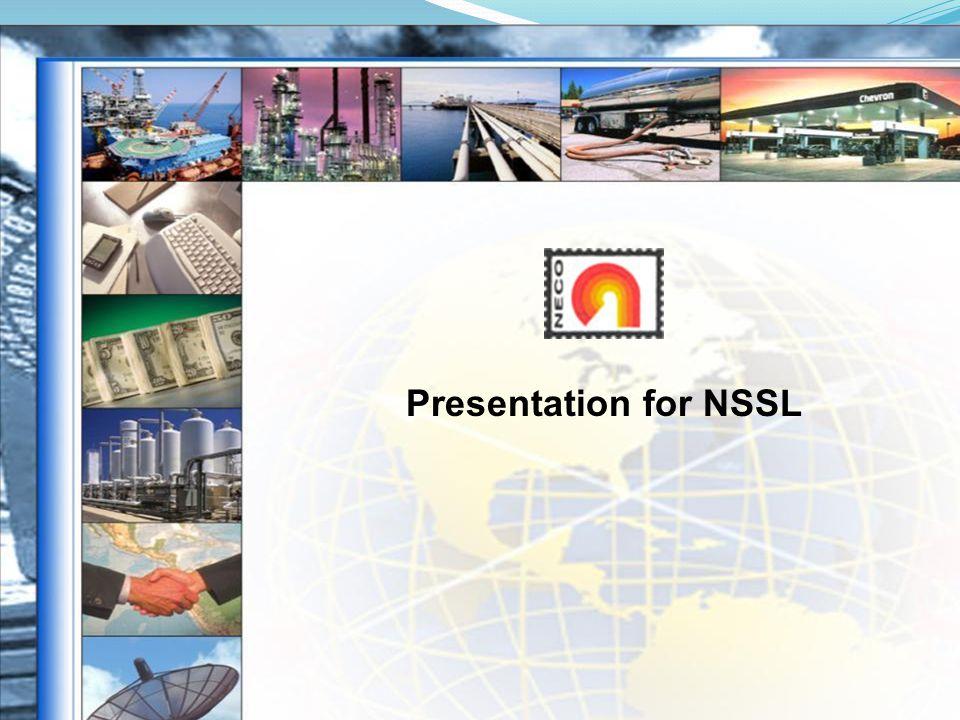 Presentation for NSSL