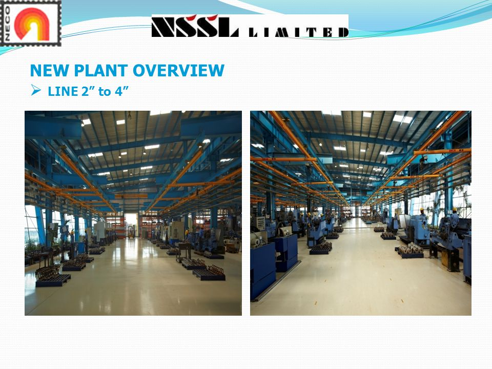 NEW PLANT OVERVIEW LINE 2 to 4